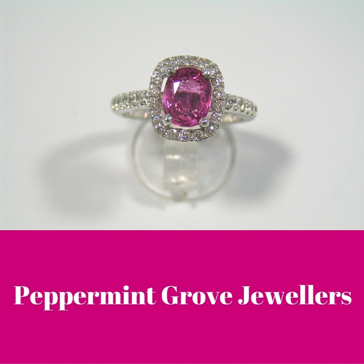 Precious gemstone and diamond rings