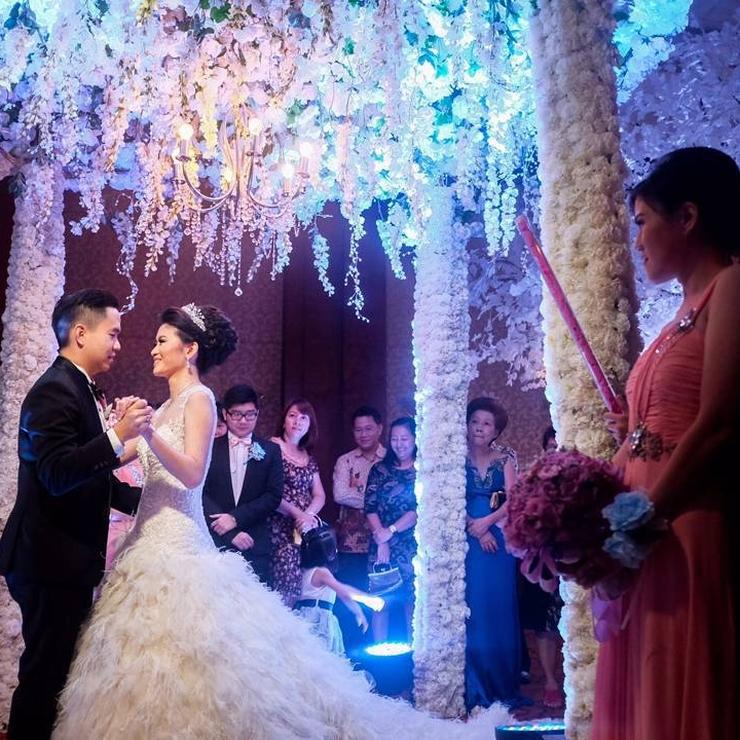 Wedding of Frederick & Melissa