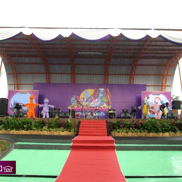 Sewa Tenda Dekorasi ( Konfensional ) Event Peresmian Water Kingdom Taman Mekar Sari Jawa Barat