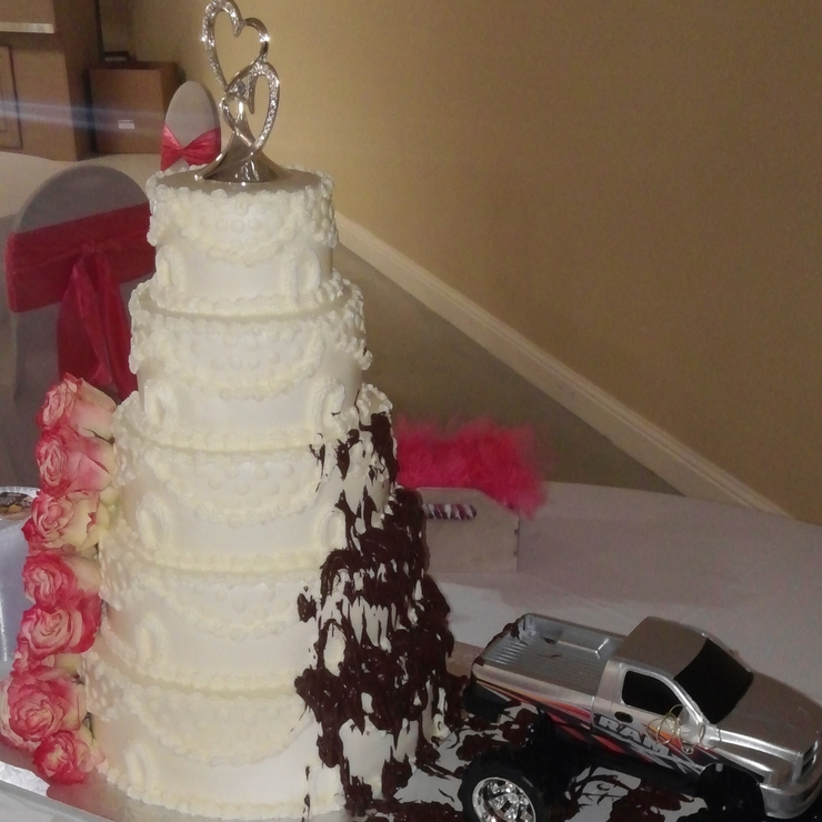 Wedding and Groom's Cakes