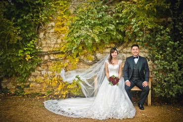 Autumn wedding photo session ideas