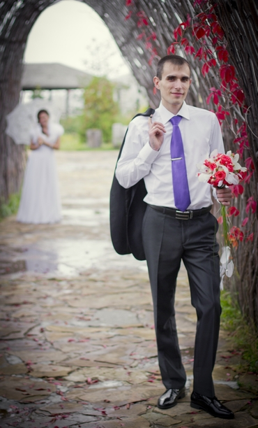 Autumn groom style
