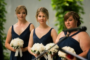 Black bridesmaids