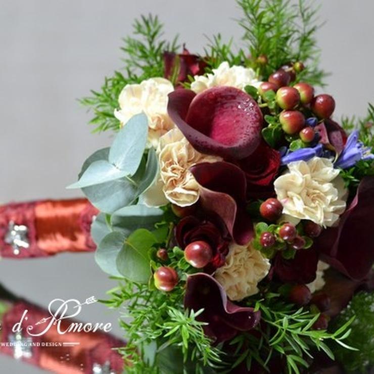 Bouquets of bride