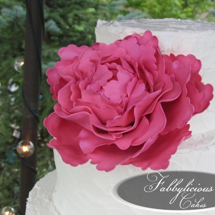 Jacy's Wedding Cake