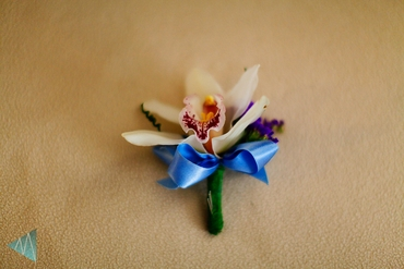 Purple buttonhole