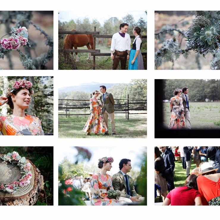 Bohemian Wedding in Spain - Leafhopper Weddings