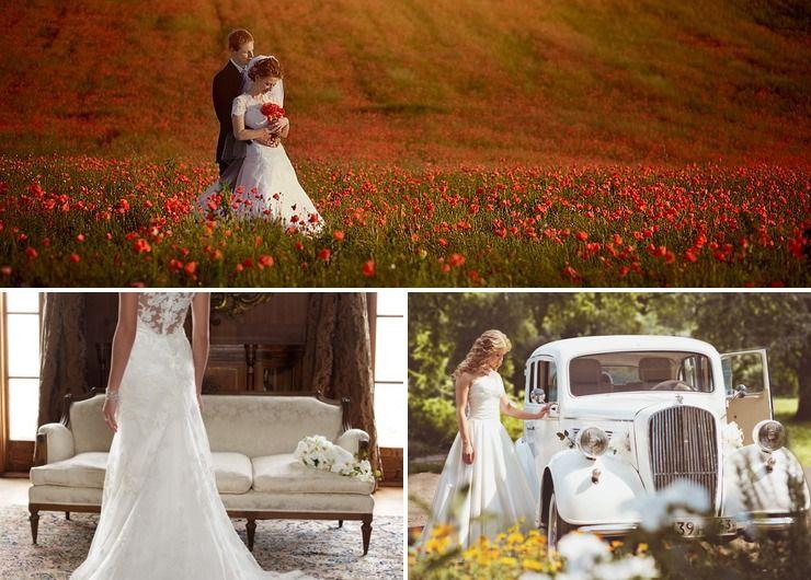 Wedding dresses in Summer European