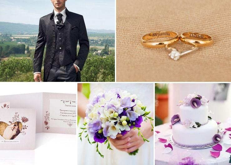 Wedding dresses Purple European