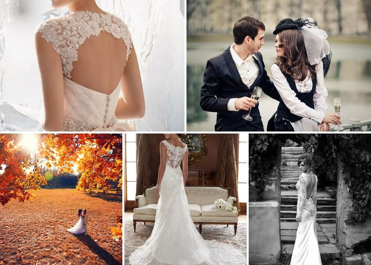 French autumn real weddings