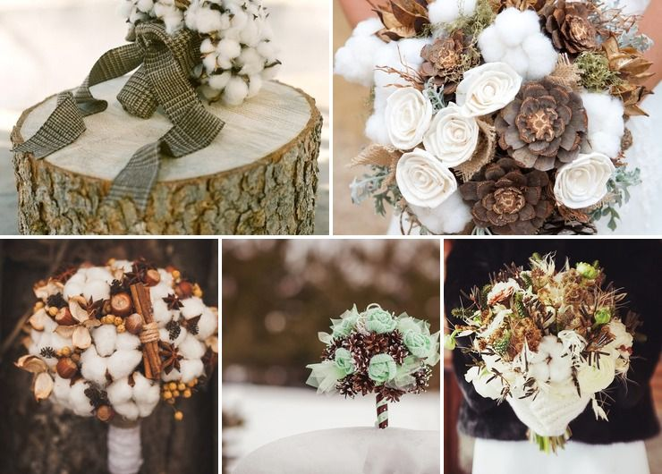 Décor and flowers Brown in Autumn Rustic