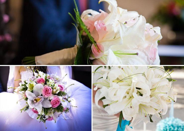 Bridal bouquet Pink