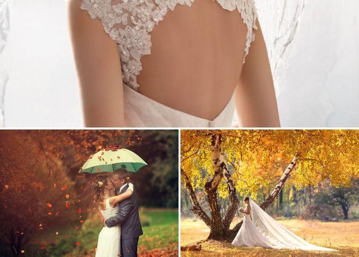 Autumn orange real weddings