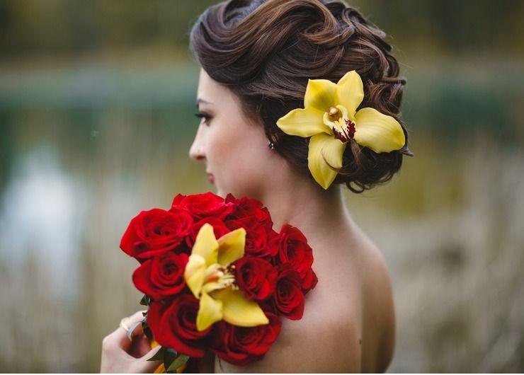 Outdoor red wedding accessories