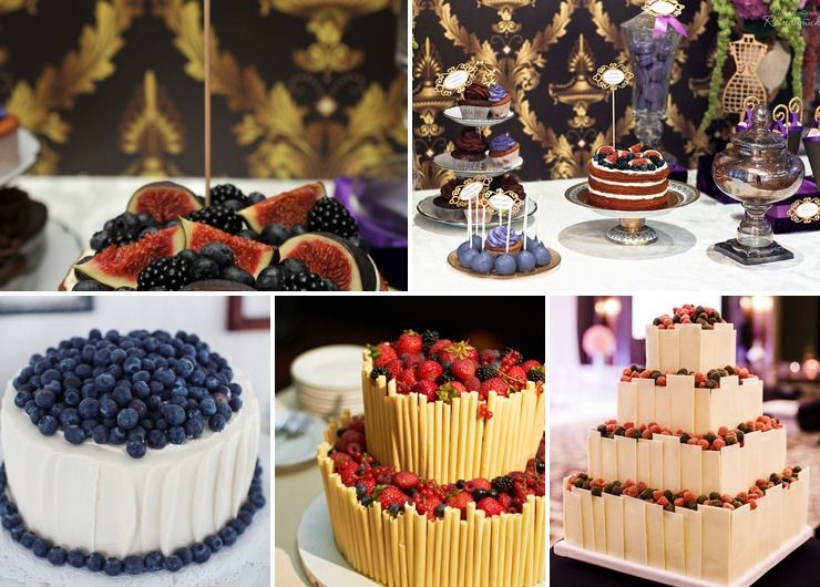 Fruit&Berry Wedding Cake