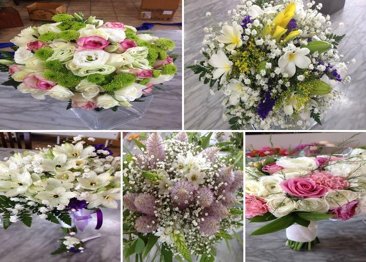 Bride's bouquets 2015