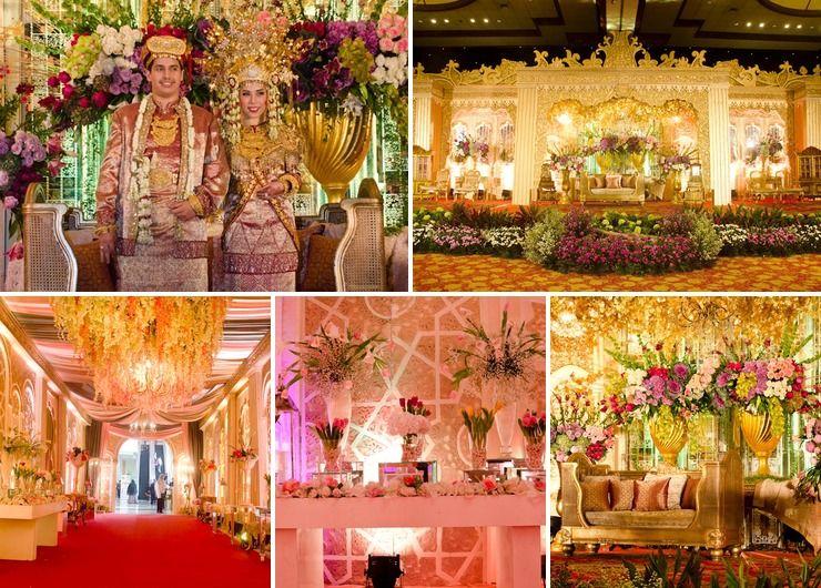 Wedding Ibrahim & Charissa, Raffless Room Balai Kartini, Jakarta