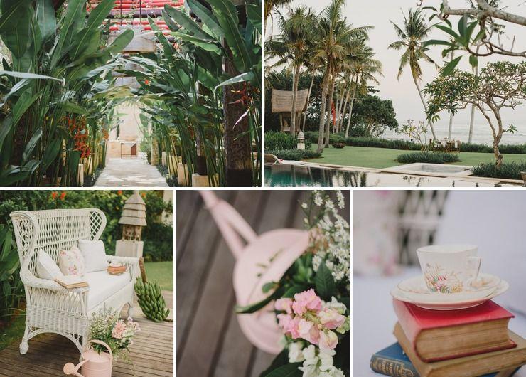 Eglish Garden Vintage Inspiration