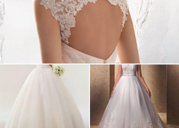 English ivory bridal style