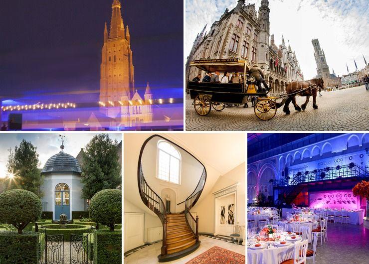 Exclusive venues #Bruges