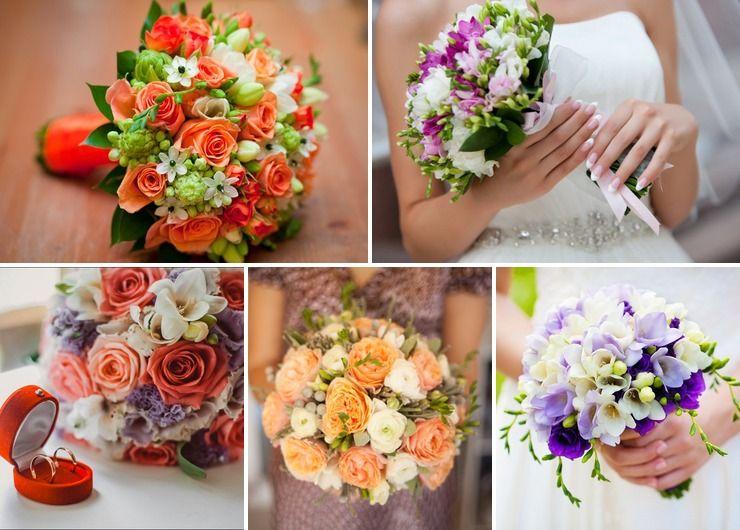 Bridal bouquet Pink in Autumn