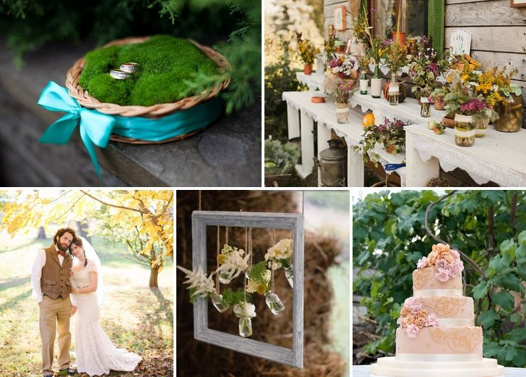 Photo session decor Blue in Summer Rustic