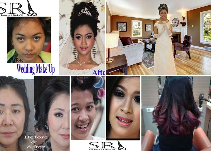 Hair style & Make'up...