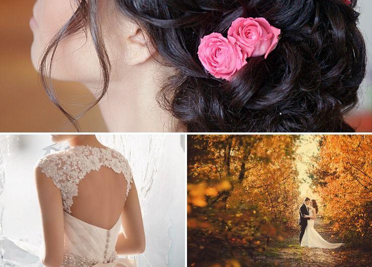 European autumn ivory long wedding dresses