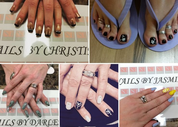 Nail Institute Student work