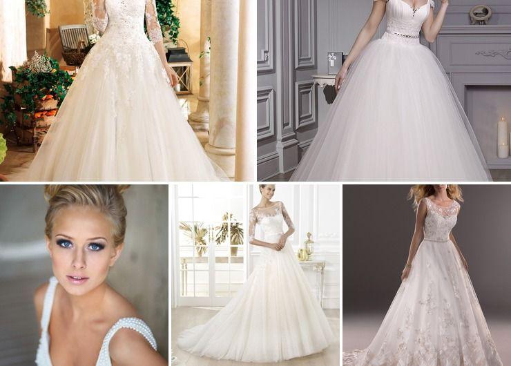 English spring bridal style