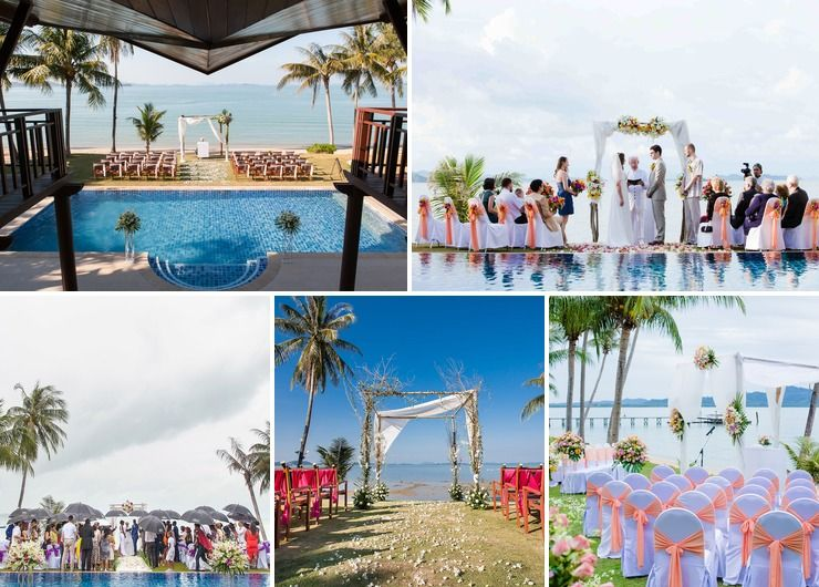 Idyllic Wedding Venue at The Village Coconut Island