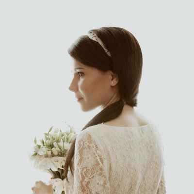 Vintage long wedding hairstyles