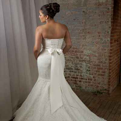 Corset wedding dresses