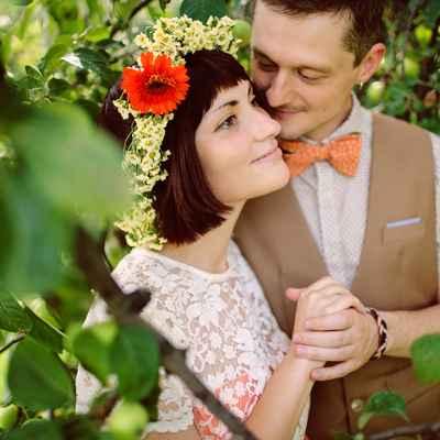 Vintage summer real weddings