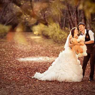 Autumn real weddings