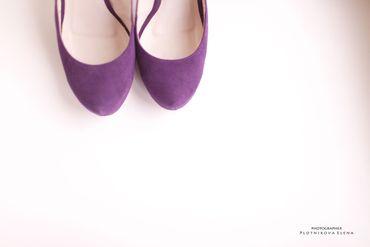 Purple bridal style