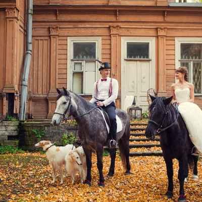 English autumn real weddings