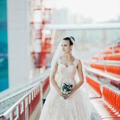 Short sleeve wedding dresses