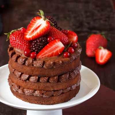 Brown wedding cupcakes