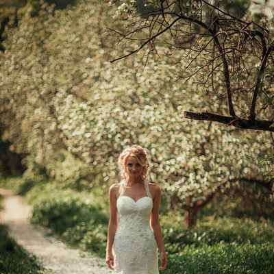 Spring mermaid wedding dresses