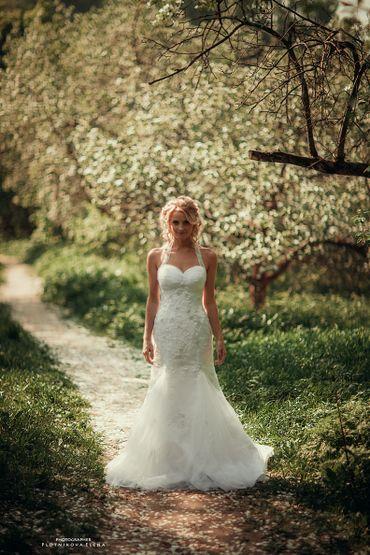 Spring mermaid wedding dresses