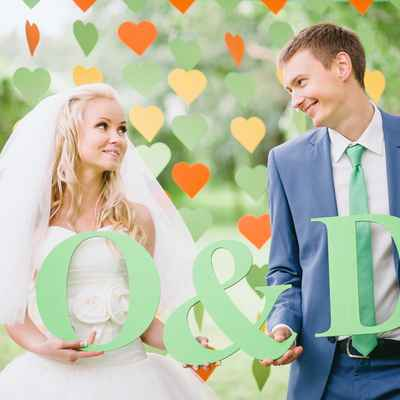 Green real weddings