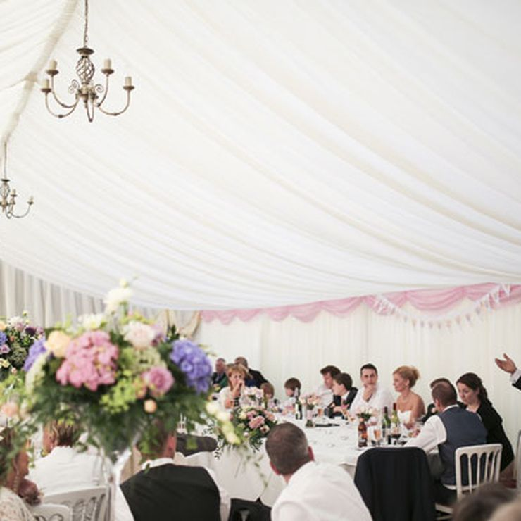 Marquee Wedding in Suffolk (photos by KerryJames