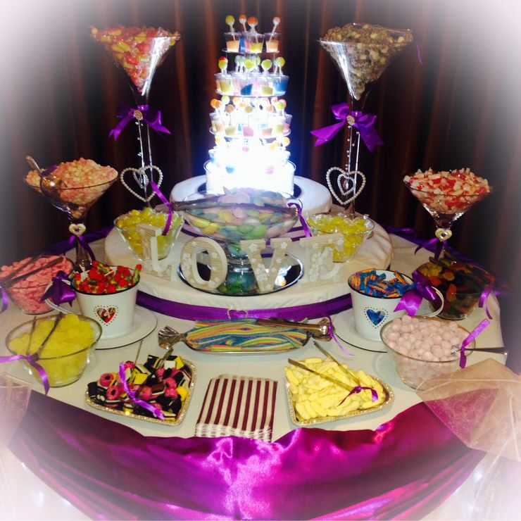Wedding Sweet Buffets