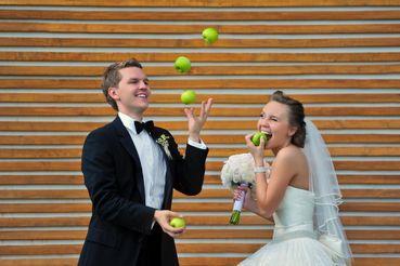 Themed green long wedding dresses
