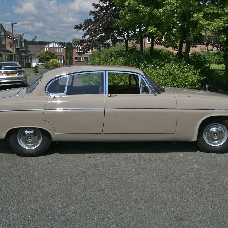 NEW for Summer 2015 Weddings our beautiful vintage coloured Wedding car.