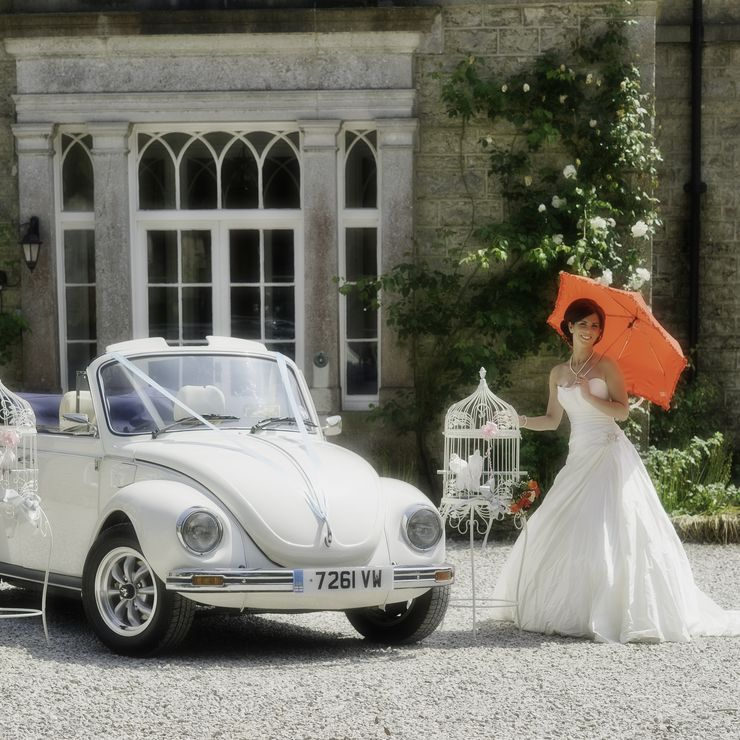 Ringo our VW Beetle Cabriolet ideal for that summer Wedding