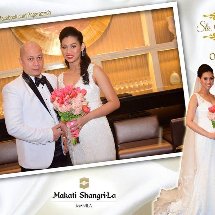 wedding at Makati-Shangrila