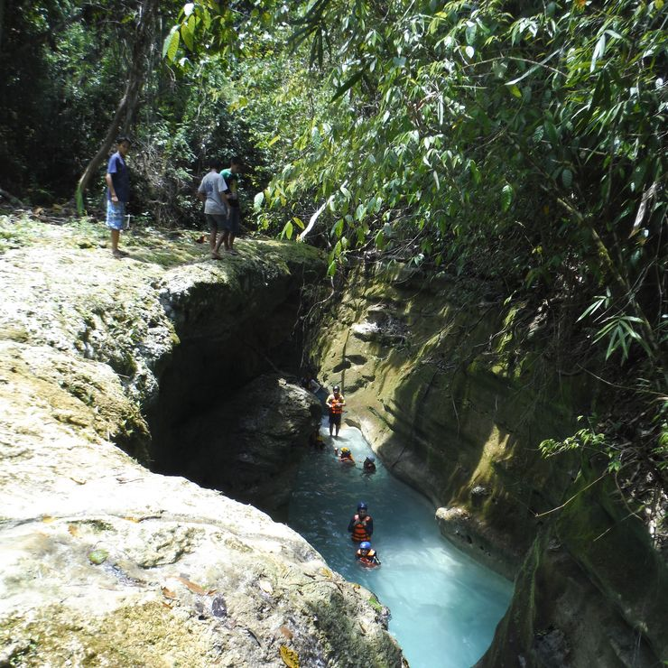Badian Canyoneering Tour