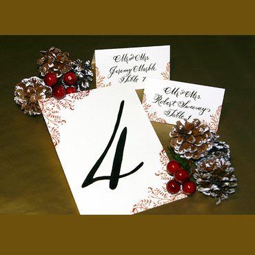 Winter wedding signs